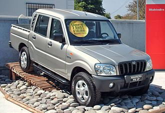 Mahindra Scorpio - Mahindra Scorpio Getaway, the pick-up version