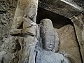 Main Cave Sculptures - Elephanta Caves - Elephanta Island - Mumbai - Maharashtra - India (25806575543).jpg