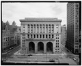 Main elevation (Grant St),looking east - City-County Building, 414 Grant Street, Pittsburgh, Allegheny County, PA HABS PA,2-PITBU,34-1.tif