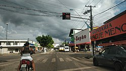 Main street of Santa Isabel do Pará, 2018.jpg