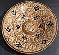 Maiolica ispano-moresca, piatto a lustro, manises, 1425-1450 ca.jpg