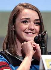 Maisie Williams at the San Diego Comic-Con in 2015