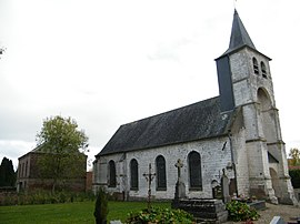 The church in Maison-Roland