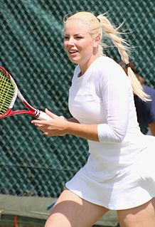 Tadeja Majerič Slovenian tennis player
