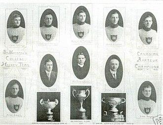 Toronto St. Michael's Majors - Allan Cup Champions, 1910