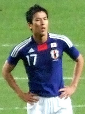 Makoto Hasebe - Image: Makoto Hasebe cropped 2009