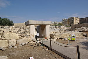 Tarxien - Image: Malta Hal Tarxien BW 2011 10 04 12 59 04