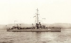French destroyer Mameluck