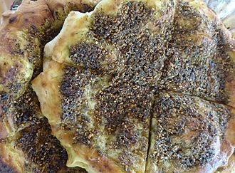 Levantine cuisine - Manakish