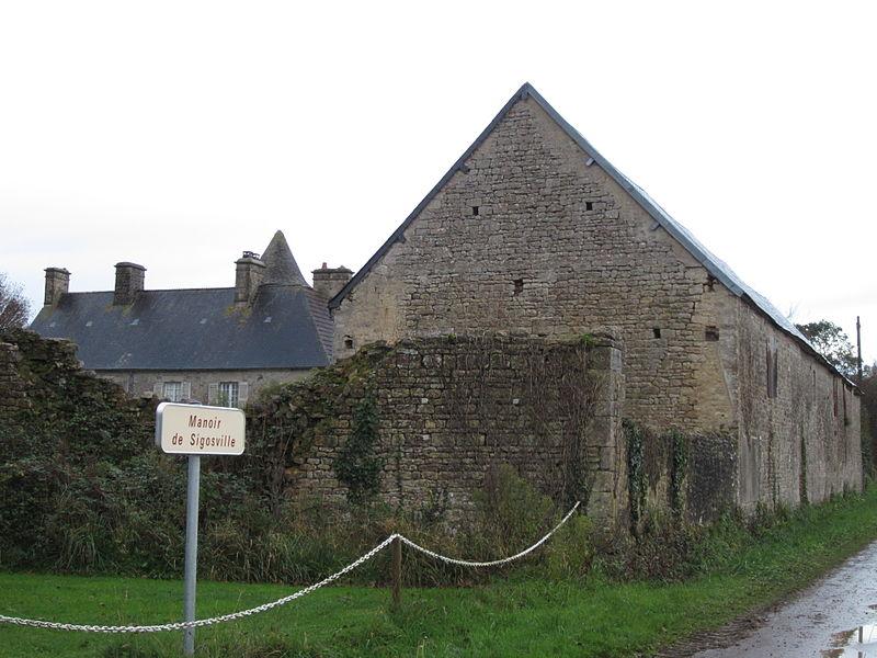 Manoir de Sigosville, fr:Le Ham (Manche)