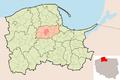 Map - PL - powiat kartuski - Chmielno.PNG