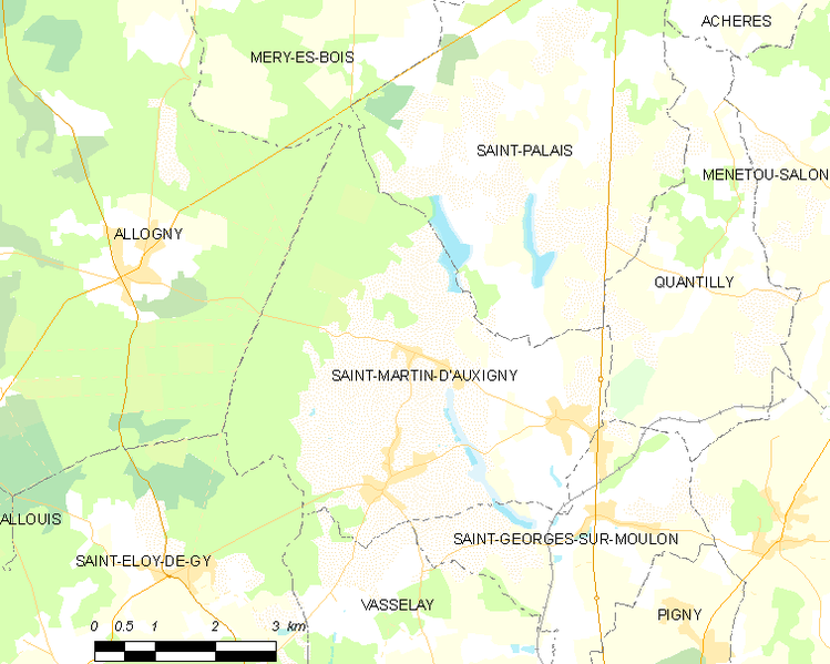 Fitxer:Map commune FR insee code 18223.png