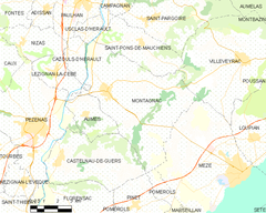 Map commune FR insee code 34162.png