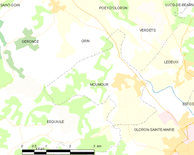 Map commune FR insee code 64409.png