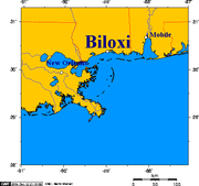 Map of Biloxi and Mississippi coast.png