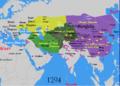 Map of Chughtai Khanates.png