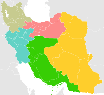 Map of Iranian Regions.png