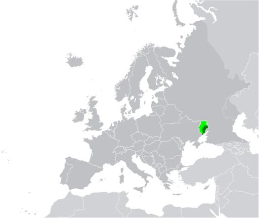 Map of Novorossiya