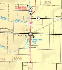 Map of Scott Co, Ks, USA.png