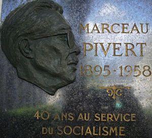 affiche Marceau Pivert