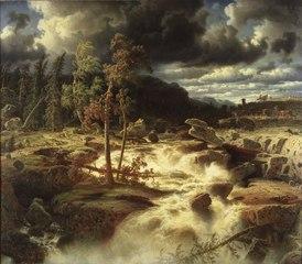 Waterfall in Småland