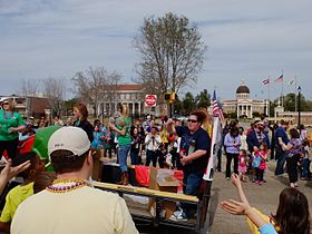 Mardi Gras Parade in Hattiesburg