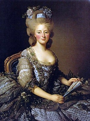 Archduchess Maria Amalia of Austria - Duchess Maria Amalia of Parma. Portrait by Alexander Roslin.