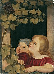 Two Children at a Window