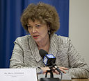 Maria Leissner at Community of Democracies Press Briefing.jpg