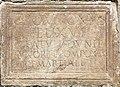 Maria Saal Zollfeld Prunnerkreuz Grabinschrift des C Pomponius Felix 18102015 8150.jpg