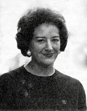Maria Luisa Spaziani - Spaziani in 1976