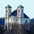 Marienberg, Wallfahrtkirche von Burghausen aus gesehen, 1.jpeg