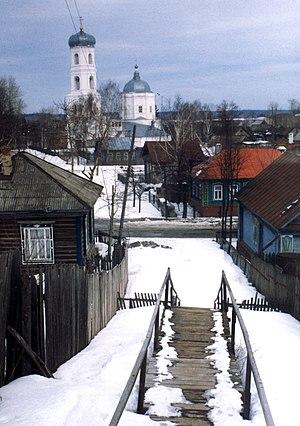Mariinsky Posad - Beginning of spring in Mariinsky Posad