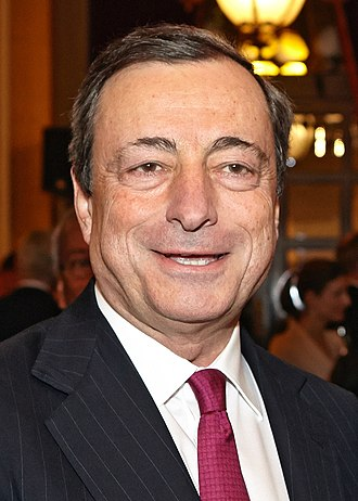 President of the European Central Bank - Image: Mario Draghi 2013