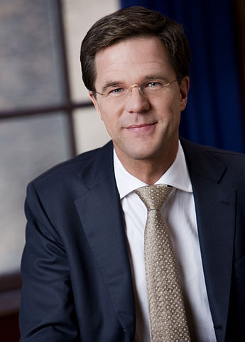 Mark Rutte is Prime Minister of the Netherlands. Photo by Nick van Ormondt.