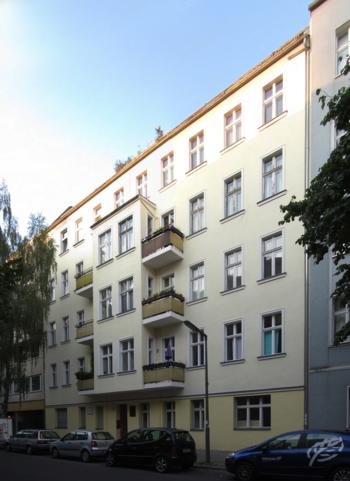 Родной дом Марлен Дитрих на Леберштрассе 65 в Берлине