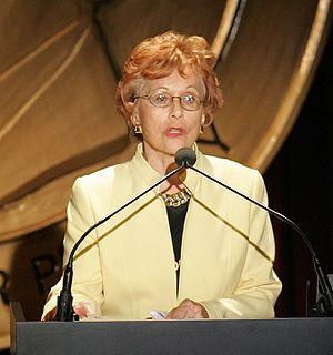 Marlene Sanders - Sanders in 2005