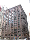 The Marquette Building was recently restored by the John D. and Catherine T. MacArthur Foundation.