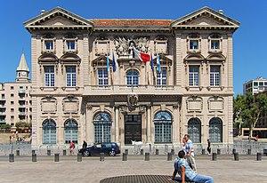 Das alte Rathaus (Hotel de Ville) von Marseill...