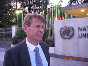 English: Martin Scheinin, United Nations Speci...