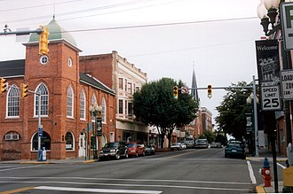 Martinsburg, West Virginia - Downtown Martinsburg Historic District