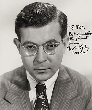 Marvin Kaplan - Marvin Kaplan in 1951.