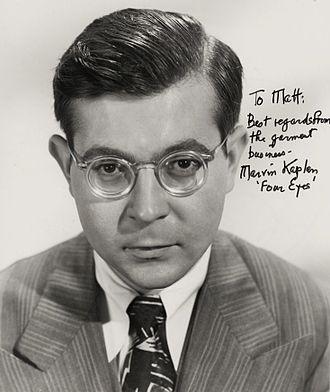 Marvin Kaplan - Marvin Kaplan in 1951.