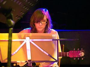 Mary Halvorson, Jazz guitarist; Picture taken ...