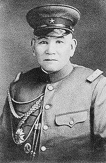 Jinzaburō Masaki Japanese general