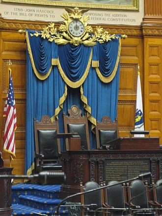 Massachusetts General Court - Chamber of the Massachusetts House of Representatives