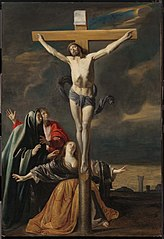 The Crucifixion with the Virgin, Saints John, and Mary Magdalen