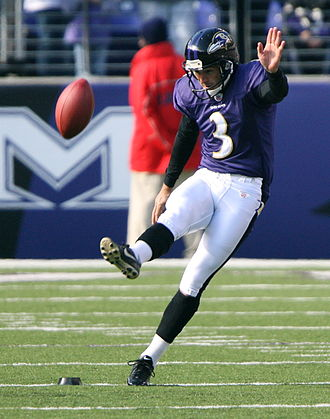 Matt Stover - Stover with the Baltimore Ravens in 2006