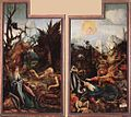 Matthias Grünewald - Visit of St Anthony to St Paul and Temptation of St Anthony - WGA10771.jpg