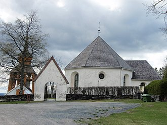 Jämtland - Medieval church in Mattmar